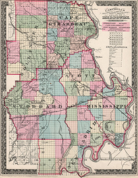 bollinger county mo plat map image collections