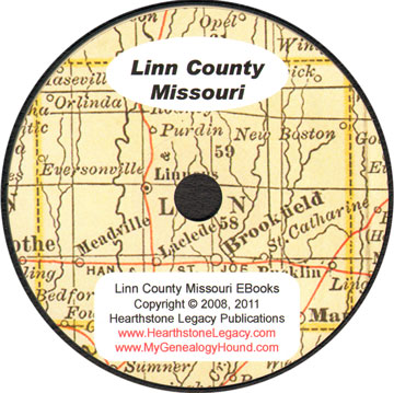 Linn County Missouri Genealogy History Maps With Brookfield