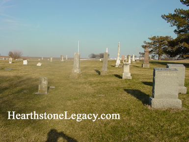 Maplewood Cemetery At Alma Missouri In Lafayette County